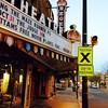 Oct 24 - 'x' is for cross walk; this one in front of the Regent Theatre in Picton, ON #fmsphotoaday #crosswalk #picton #princeedwardcounty #regenttheatre #mainstreet #smalltown #ontario #morning #autumn