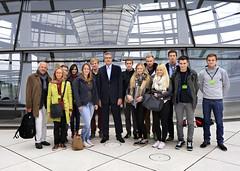 Besuch von Schülerinnen und Schülern des Carl-Fuhlrott-Gymnasiums