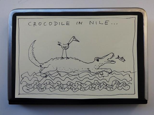 Crocodile-in-Nile
