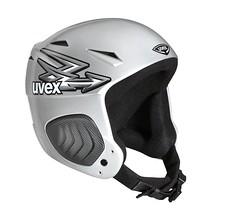 Juniorská helma UVEX Jet ride flash stříbrná - titulní fotka