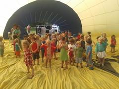 K1: luchtballon op onze school deel 2