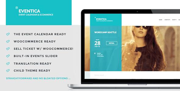 Eventica WordPress Theme free download