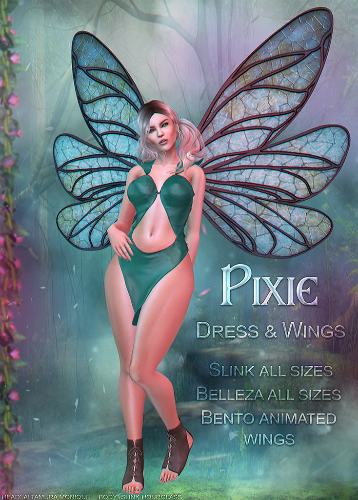 Pixie Dress @Totally Top Shelf - SecondLifeHub.com