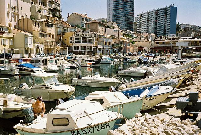 France 2013, Rue du Vallon des Auffes, Marseille