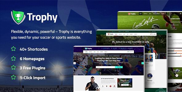 Trophy WordPress Theme free download