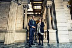 Jue, 06/04/2017 - 12:19 - Ada Colau es reuneix amb el ministre de Foment, Íñigo de la Serna