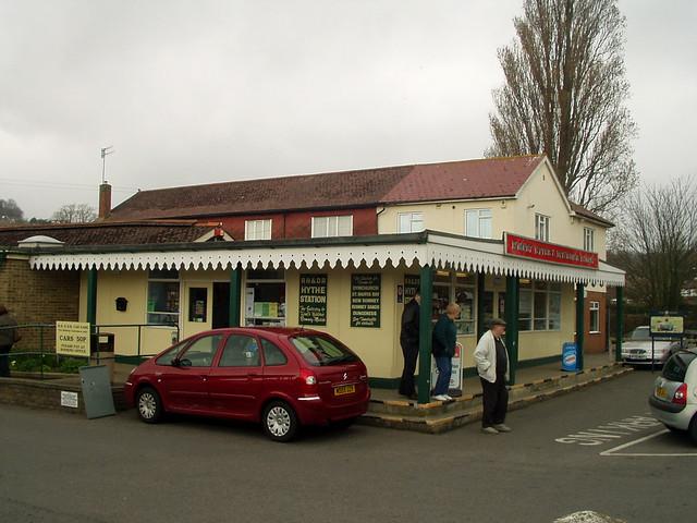 Hythe station on the Romney, Hythe and Dymchurch railway