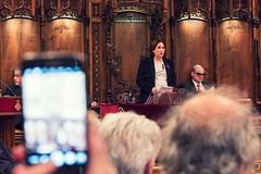 dv., 10/03/2017 - 19:02 - Ada Colau lliura les medalles a Bombers de Barcelona amb motiu de la festa del patró i dona la benvinguda a la nova promoció de Bombers de la ciutat