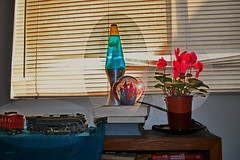 Still Life with Lava Lamp