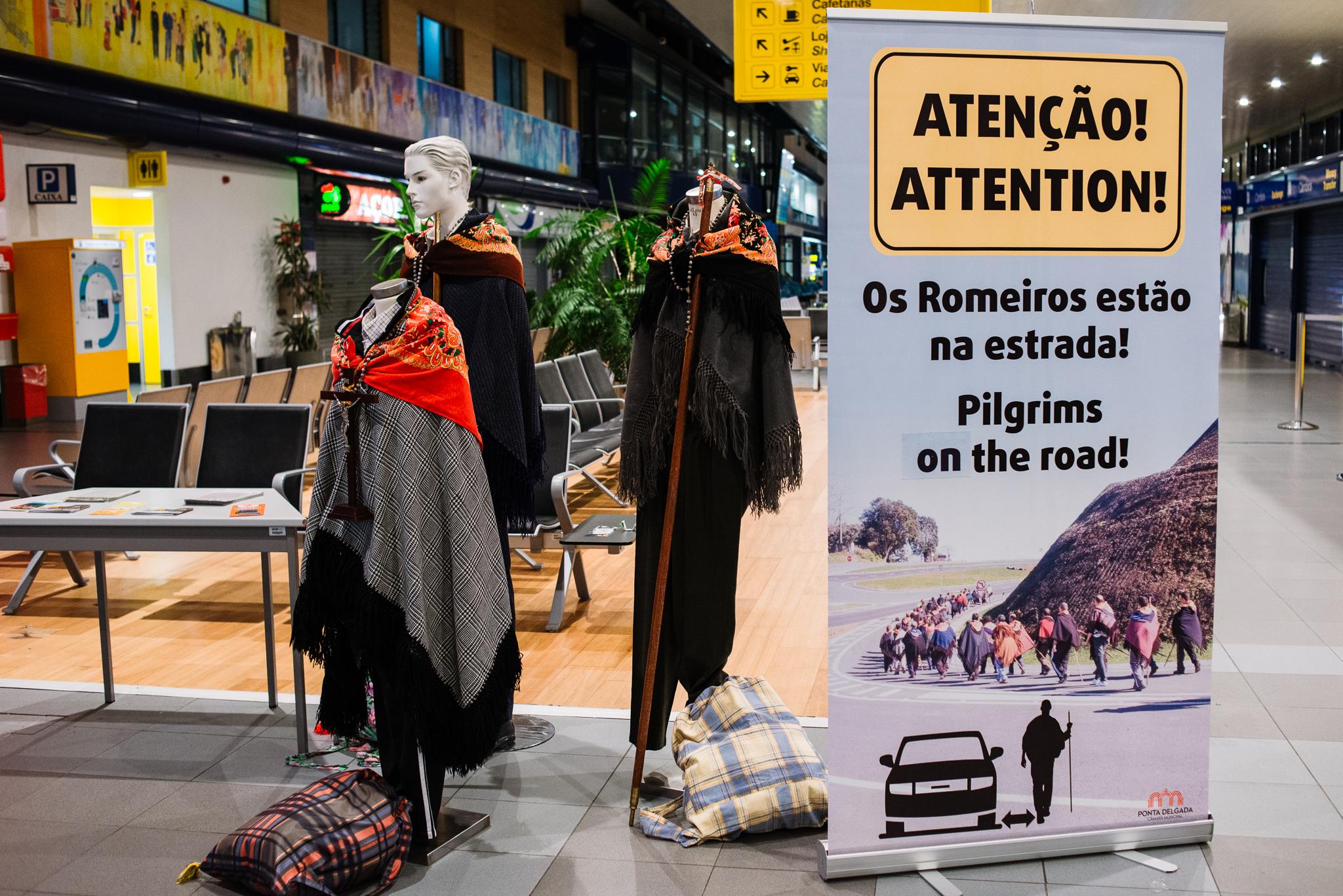 Zarándokok Sao Miguel szigetén az Azori-szigeteken