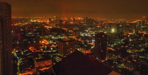 bangkok hdr skyline