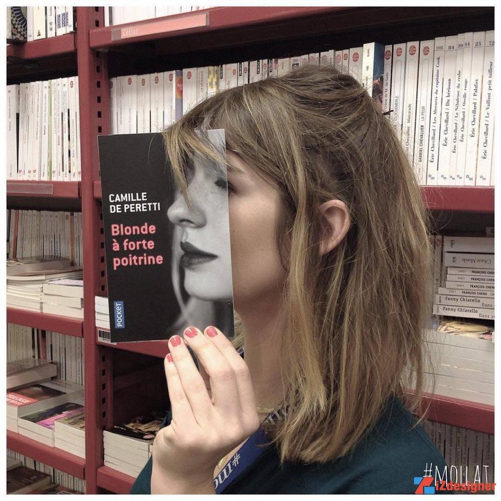 Sự sáng tạo nhiếp ảnh của một hiệu sách