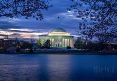 Jefferson at Blue Hour