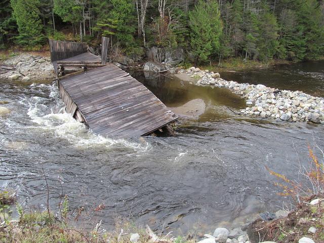 Duck Hole dam