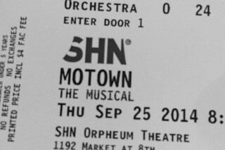 Motown The Musical - Ticket
