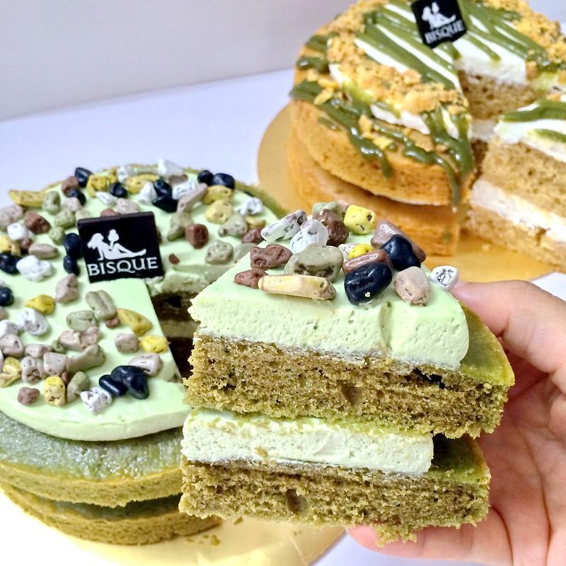 bisque cake - order online - opulent ocha