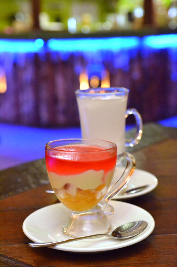 Trifle & Coconut Jelly