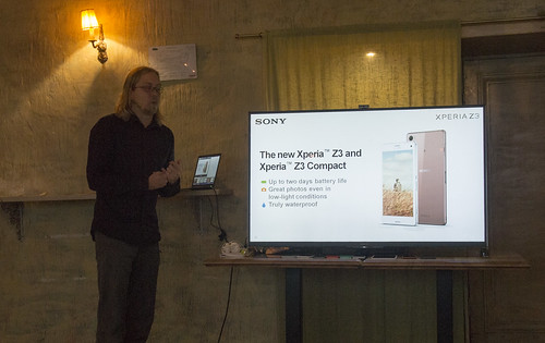 Sony Xperia Z3 Compact telefonas ir kiti Xperia Z3