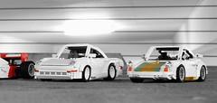 Porsche 959 and 911TT