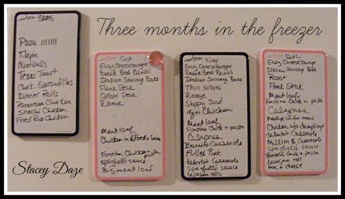 three months in the freezer