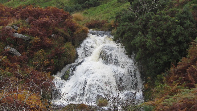 Waterfall on Doe Tor Brook