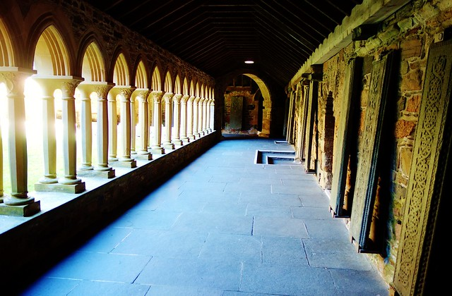 Cloisters, Iona Abbey, Scotland