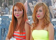 Macedonia, Greece, Sitaria village, macedonian girls in fluor    #Μacedonia