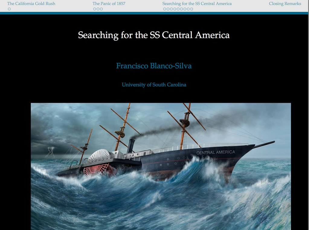 Searching for the SS Central America