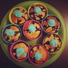 Homemade Blueberry Muffins #bakingrevival #birthdaytings #birthday #theprince #toddler #rustic #siliconecupcakecases #homemadebuttericing