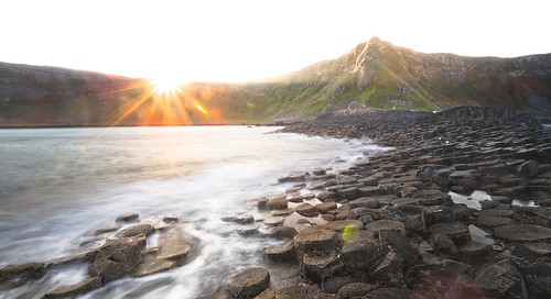 The Piles Rise - Sunrise at The Giant's Causeway