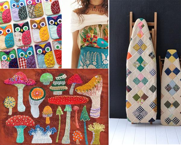 Folksy Fall {a mosaic contest}
