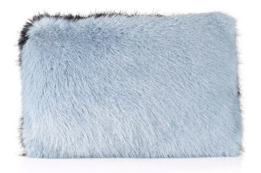Whistles faux fur clutch