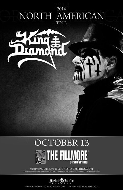 King Diamond at the Fillmore Silver Spring