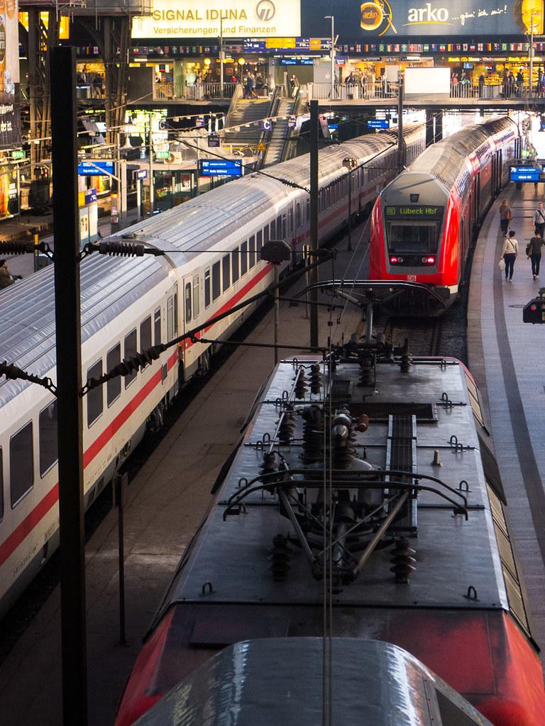 Hauptbahnhof - Hamburgo