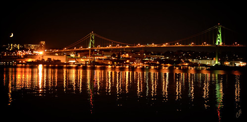 bridge cliff canada reflection cars nova night hope lights nikon cross angus ships transportation l trucks scotia halifax dartmouth macdonald d800 the cliffhope cliffhopeca