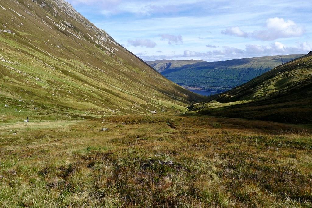 Loch Lochy from the Cam Bhealach