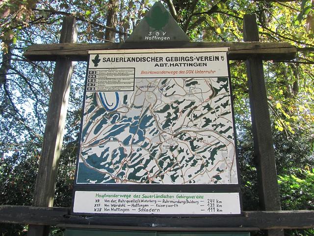 Bezirkswanderwege des SV Unterruhr