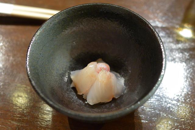 Halibut bonito intestine sauce