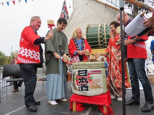 Official opening ceremony of Japan400 Plymouth