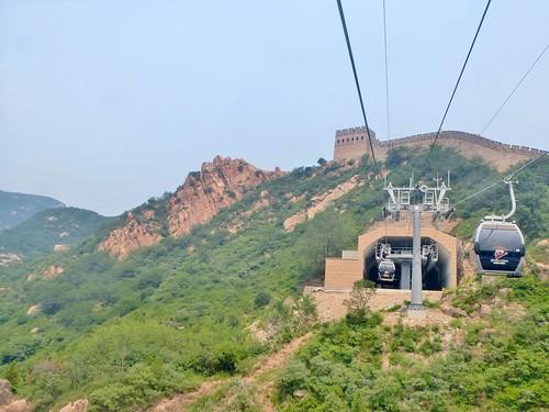 Beijing-Grande Muraille-Téléphérique (7)