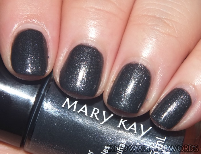 mary kay midnight jewels collection nail lacquers- night diamond