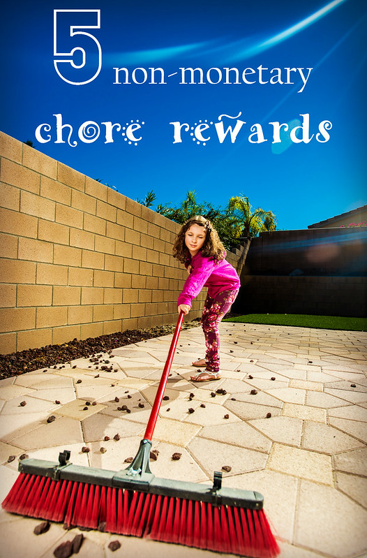 5 non-monetary chore rewards in_the_know_mom #Frosty4Adoption