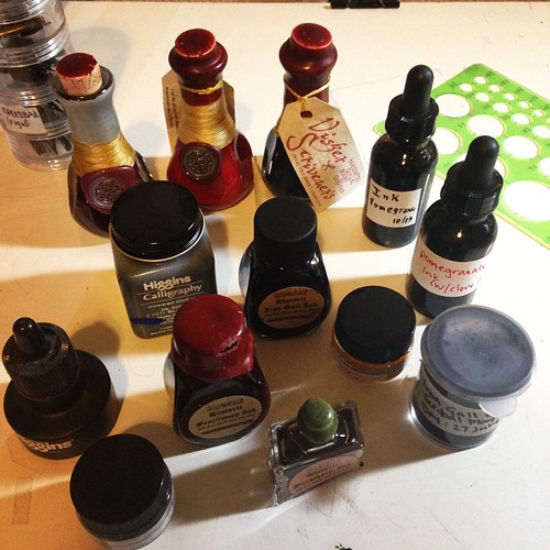 I may have an ink problem.
