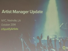 Spotify Artist Manager Conference by Guzilla
