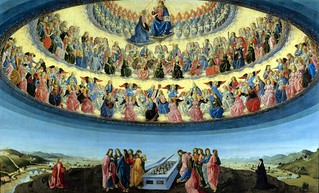 Francesco di Giovanni Botticini, Assumption of the Virgin. c.1475-1476.