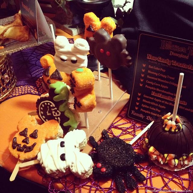 Menú de Halloween Disneyland