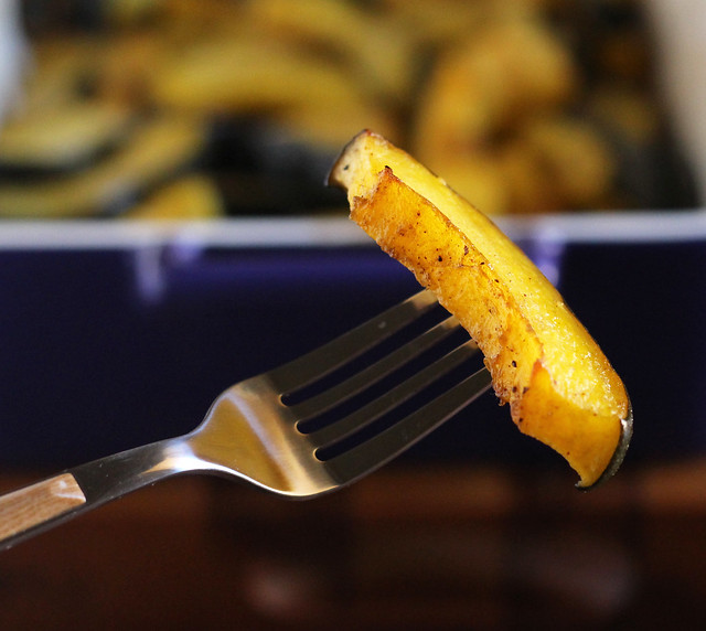 Maple Oven-Roasted Squash