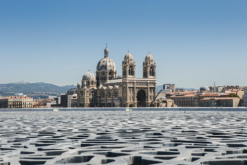 france church architecture marseille europe pattern cathedral mucem