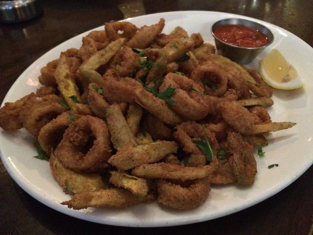 Calamari frito misto - Circa at Foggy Bottom