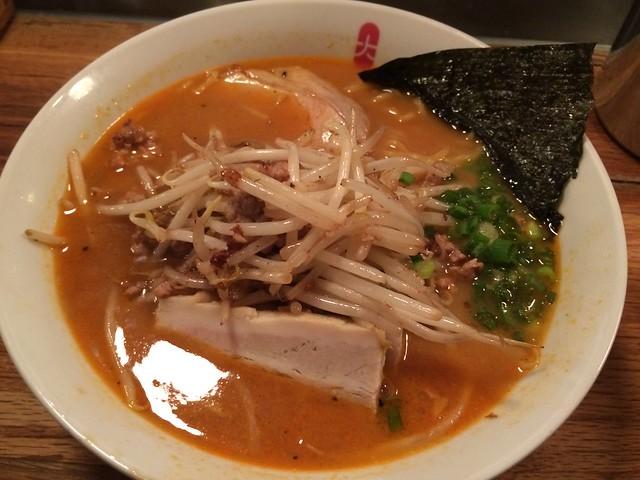 Spicy miso ramen - Daikaya